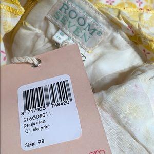"Room Seven Dresses - NWT Room Seven ""Deesja"" Dress Tile Print"